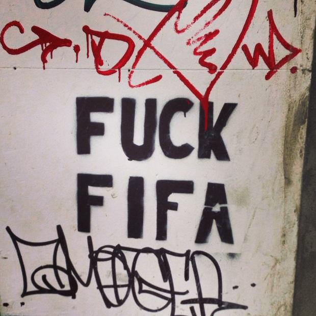 Anti-FIFA Graffiti