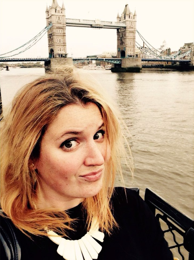 I queued to take a selfie of myself and Tower Bridge.